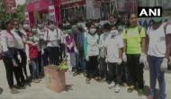 Karnataka students create awareness against plastic pollution