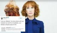 Kathy Griffin attacks Melania Trump for her tweet,