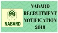 NABARD Recruitment 2018: Apply for Specialist Officers and other posts announced by the Bank; check out the last date for online registration