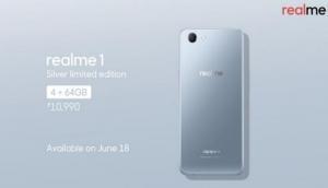 Oppo Realme 1 की पहली सेल आज, दमदार फीचर्स से लेस है ये स्मार्टफोन