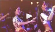 जाह्नवी ने बहन खुशी कपूर के साथ लगाए ठुमके, वीडियो वायरल