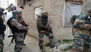 Security forces conduct search operation in J-K's Pulwama after encounter with terrorists
