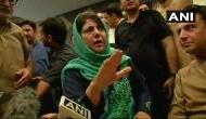 जम्मू-कश्मीर के लोगों को मुसीबत से बाहर निकालने के लिए किया था बीजेपी से गठबंधन:  महबूबा
