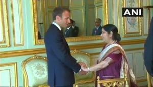 Mutual trust between India, France deepened, says Sushma Swaraj