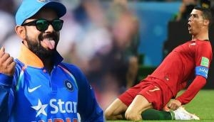 Virat Kohli Vs Cristiano Ronaldo: Two different nations, two different games and one single approach