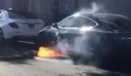 VIDEO: इस एक्ट्रेस के पति की कार में लग गई आग, ऐसे बचाई जान