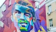 FIFA World Cup 2018: See the artistic murals of Lionel Messi, Cristiano Ronaldo, Neymar and others