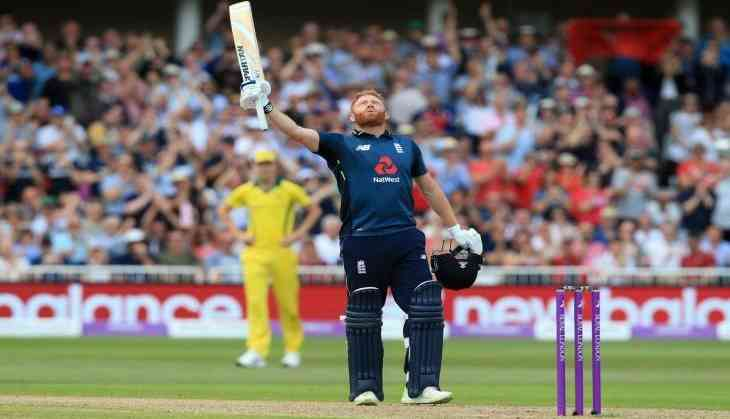 Hales and Bairstow lead England to world record score