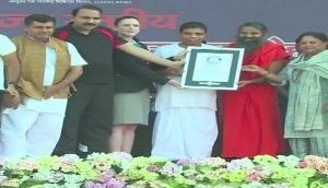 Ramdev-led yoga event to set 'world record'