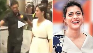 Eela actress Kajol fell down in front of public due to high heels, video goes viral