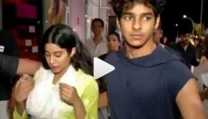 Dhadak couple Ishaan Khatter and Janhvi Kapoor are very protective for each other and we have a proof of it, see video