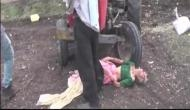 Shocking! Son throws his mother in front of tractor and the reason will hit you hard; video goes viral