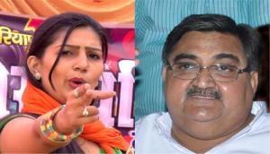 BJP lawmaker Ashwini Kumar Chopra calls Sapna Chaudhary 'thumke lagane wali' says, 'dekhna hai ki thumke lagane hain ya chunaav jeetna hai'