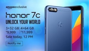 यहां से खरीदें Honor 7C और पाएं 2,000 रुपये का कैशबैक