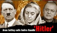 Emergency 1975: Arun Jaitley hit out at Congress, calls Indira Gandhi 'Hitler'; says both transformed democracy into dictatorship