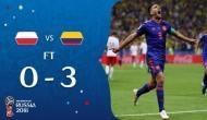 FIFA WORLD CUP 2018: कोलंबिया ने पोलैंड को 3-0 से हराकर टूर्नामेंट से किया बाहर