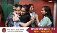 Bihar Matric Result 2018: Total 12.11 lakh passed in which 65,779 girls have got first division while 1304 students got a compartment
