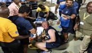 Sri Lanka's Kusal Perera got injured while making efforts to catch a ball on boundary; watch video