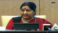 Sushma Swaraj: 'No talks with Pakistan unless it acts against terror groups operating from its soil'