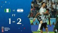 FIFAWorld Cup 2018: मेसी का चला जादू, करिश्माई गोल ने अर्जेटीना टीम ने अंतिम 16 में पहुंचा