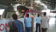 दिल्ली मेट्रो के पहिए रुके, सुबह दफ्तर जाने वालों को हुई भारी परेशानी