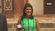 US envoy Nikki Haley visits Gauri Shankar Temple