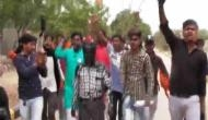 RSS's student' wing, ABVP activists assaults professor in Gujarat's Bhuj and paints his face black; video goes viral