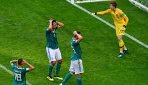 Underdogs' Cup: Germany's group summed up the change in footballing order