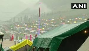 जम्मू-कश्मीर: अमरनाथ यात्रा पर लगा ब्रेक, सभी यात्री सुरक्षित