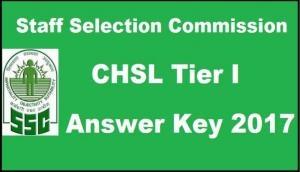 SSC CHSL Tier I 2017: फाइनल आंसर-की जारी, जानें भर्ती की जरुरी बातें