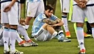Lionel Messi suspended from Argentina's opening World Cup qualifier