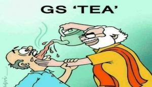 GST Day: BJP celebrates Goods and Services Tax's first anniversary; Tweeple calls it 'GS-Tea, a kadvi chay'