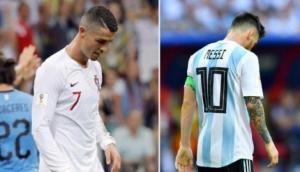 FIFA 2018: फुटबॉल महासमर में शनिवार को आया 'तूफान' और टूट गया मेसी-रोनाल्डो का सपना