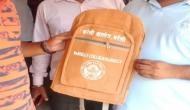 UP: सरकारी इमारतों के बाद अब कॉलेज बैग भी हुए भगवा, छात्रों ने किया हंगामा