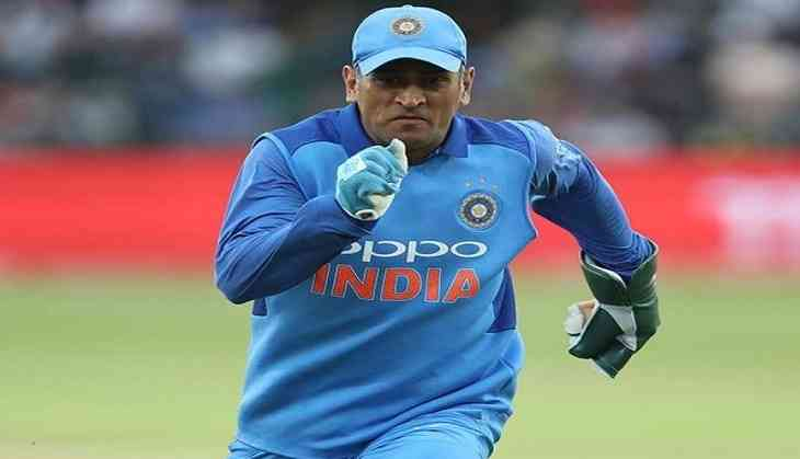 ind vs ire former captain cool ms dhoni now becomes a water boy