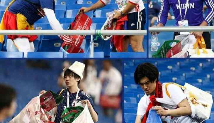 07a406669 FIFA World Cup 2018  Japan loses match but steal hearts with dignified  response