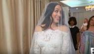 WWE star Nikki Bella feels 'like a Barbie' wearing her bridal gown
