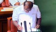 Karnataka CM Kumaraswamy presents first budget in Vidhana Soudha