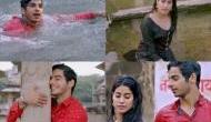 जाह्नवी और ईशान का बारिश के मौसम में दिखा  'पहली बार' प्यार, गाना हुआ रिलीज