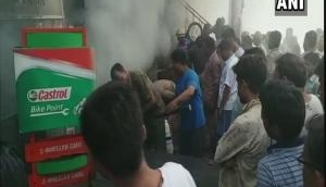 Fire breaks out at Lucknow godown