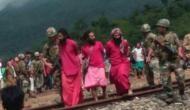 असम: बच्चा चोर समझकर तीन साधुओं का 'मॉब लिंचिंग' करने पर उतारू थी भीड़, सेना ने बचाया