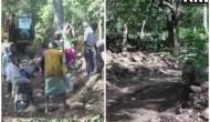 Police, villagers come together to construct road in Chhattisgarh's Naxal-affected areas
