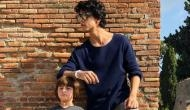 This new picture of Shah Rukh Khan's son Aryan Khan with AbRam proves why we are keen to watch him on silver screen