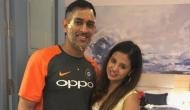 MS Dhoni's wife Sakshi Dhoni trolled for 'inappropriate' dress