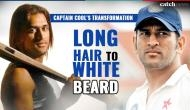 Happy Birthday MS Dhoni: From long hair to white beard, here's the 14 year journey of Captain Cool's transformation