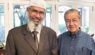 भारत को झटका देते हुए मलेशियाई PM ने जाकिर नाइक से की मुलाकात !