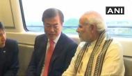 PM मोदी ने दक्षिण कोरिया के राष्ट्रपति के साथ मेट्रो में किया सफर, देखें वीडियो