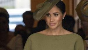 Meghan Markle, Duchess of Sussex wears Ralph Lauren to Prince Louis' christening