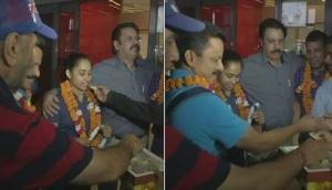 Dipa Karmakar returns to India after her 'golden win'