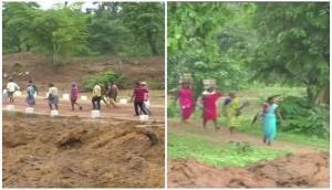 Tribals in Chhattisgarh's Kondagaon get concrete bridge after 71years